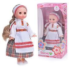 Кукла Эля в белорусском костюме