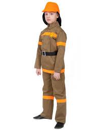 Костюм Пожарный (куртка, брюки, шлем) р.32-34, рост 128-134 см