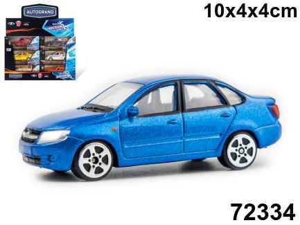 Машина Lada Granta синяя 1:60