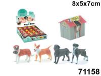Пазл Собака Породистый Пес 3, в будке 8*7*5 см.