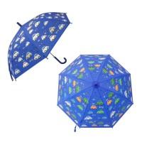 Зонт детский Машинки 48,5см рисунок проявляется, полуавтомат