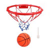 набор Баскетбол Профи, кольцо металл 25см мяч, игла для насоса, креплен