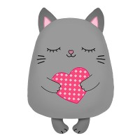 Мягконабивная Сплюшка Котик 30см