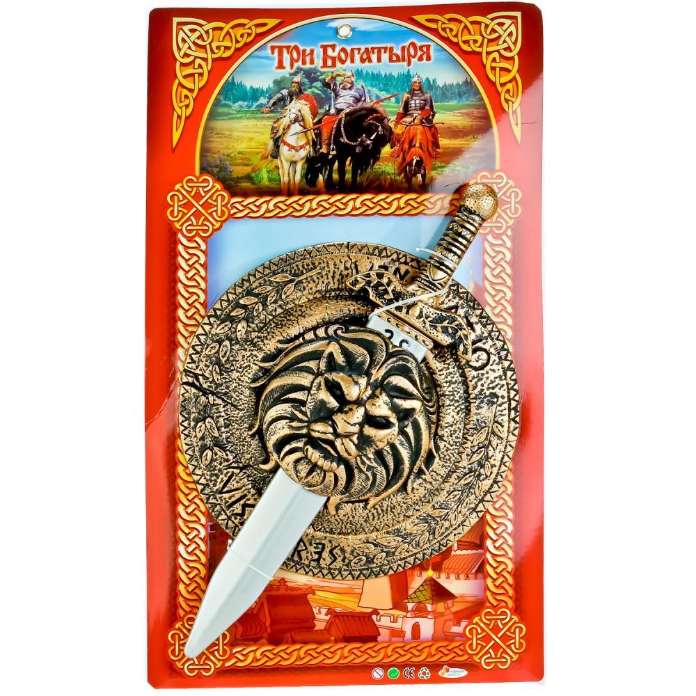 Набор оружия Три богатыря (щит+меч)