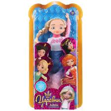 Кукла Карапуз Аленка 29 см Царевны руки и ноги сгибаются