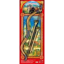 Лук Три богатыря со стрелами на присосках