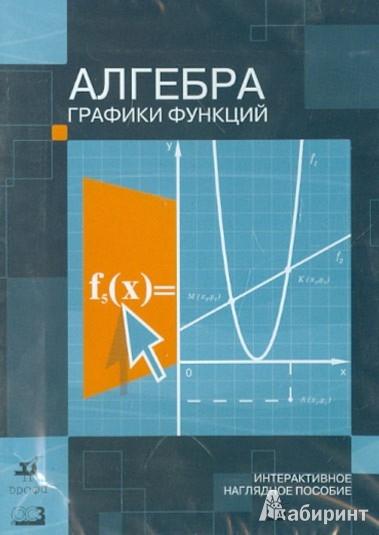 CD Алгебра. Графики функций: Интерактив. нагляд. пособие