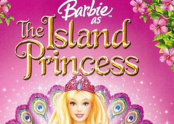 Пазл 35 Visual Echo 3D 35151 Барби The Island Princess