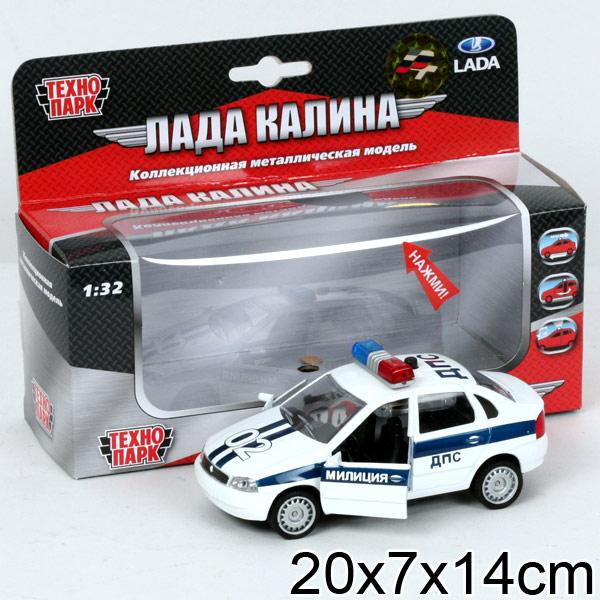 Машина Лада Калина Полиция металл звук