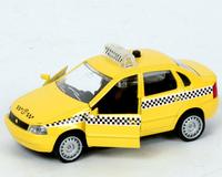 Машина Лада Калина Такси свет, звук