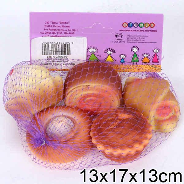 Набор продуктов из выпечки (5 пред.) ПВХ пирожные