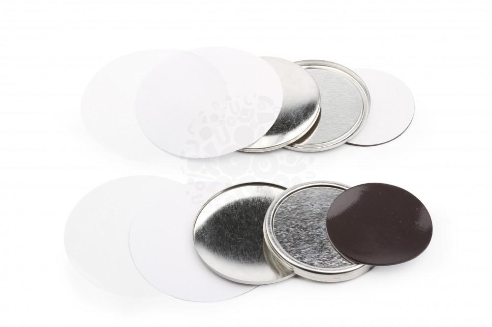 Магнит закатный ассорти  металлический (10видов)
