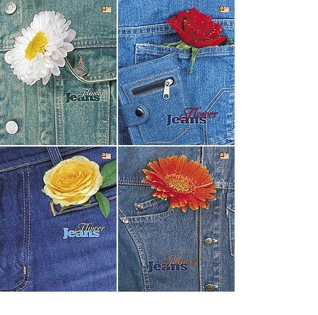 Тетрадь 80л кл спир Flower jeans