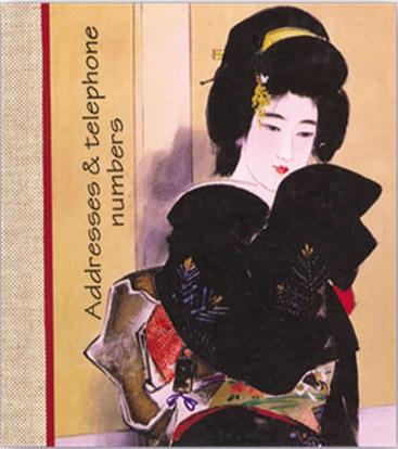 Телефонная книжка А6 Гейша