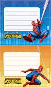 Наклейки 69513-Мн На тетрадь 2 шт Человек-паук