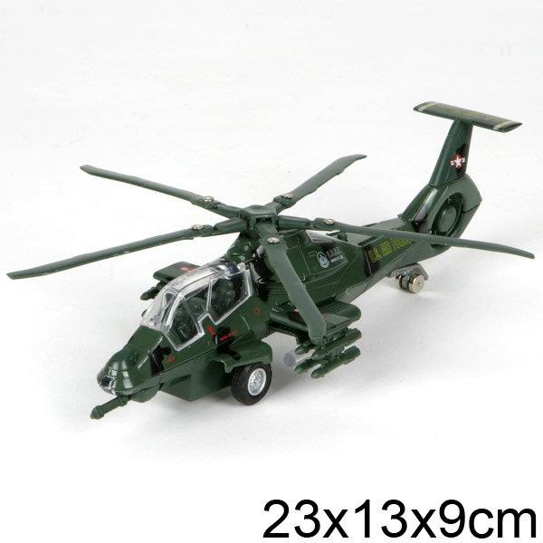 АКЦИЯ-20 Игр Вертолет Военный свет, звук