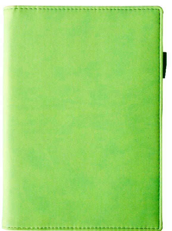 Еженедельник А6 Bruno Visconti Concept зеленый (недат.) + тел. книж.