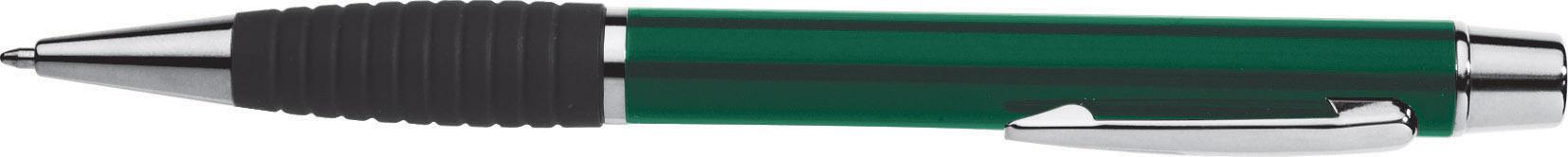 Ручка подар. EK Avantage VN-230 поворотная, зелен. корпус с резинк