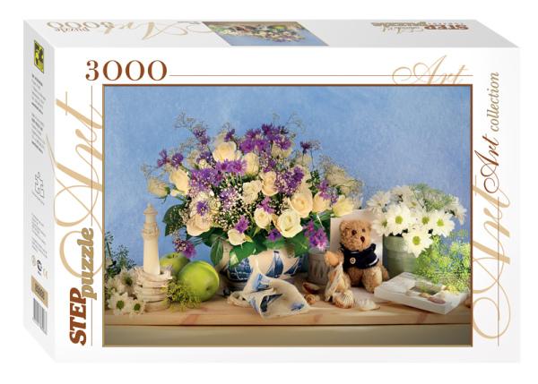 Пазл 3000 Step Цветы