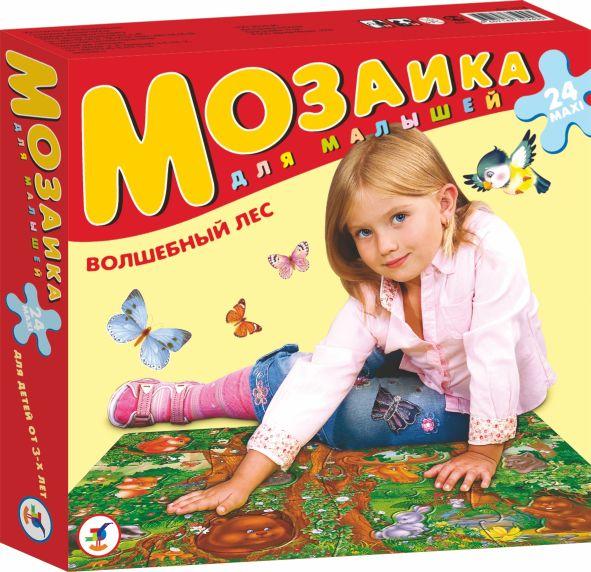 Мозаика для малышей. Волшебный лес: 24 MAXI