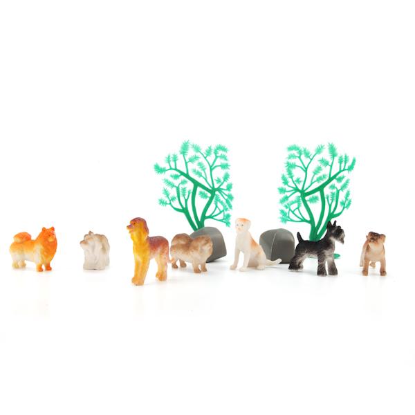 """Игрушка из ПВХ Набор Животные """"Диалоги о животных"""" (тубус)"""