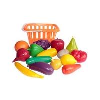 набор Фрукты и овощи в корзине