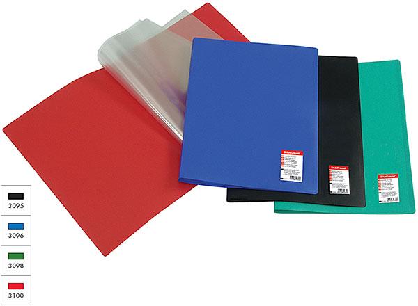 Папка-файл А4 30л EK Standart зеленый