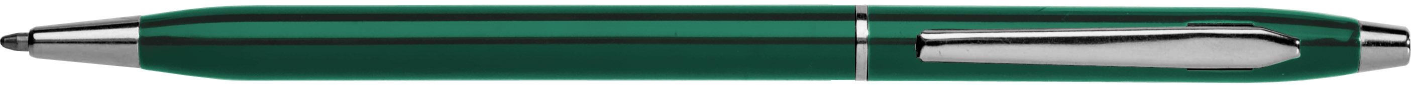 Ручка подар. EK Incanto NT-110 автомат, корпус зеленый с желт метал.