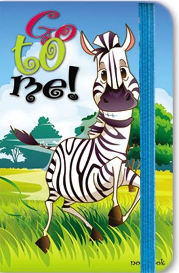 Зап. книжка А6 80л Африка (на резинке)