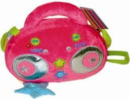 Игрушка мягконабивная Супер Радио