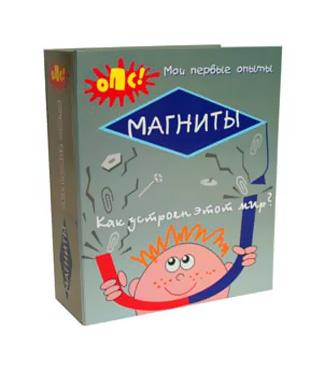 Набор игровой детский для опытов Магниты