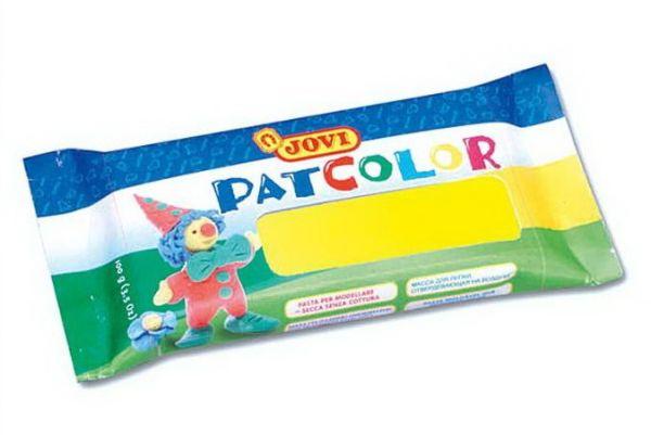 Глина д/моделирования 100гр Pat Color отверд. желтая