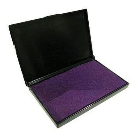 Подушка штемпельная 7*11 Proff фиолет. средняя к/к на гелевой основе