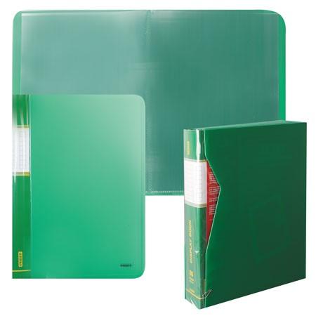 Папка-файл А4 80л Proff зеленая в п/к