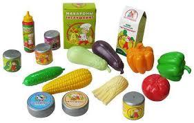 Набор продуктов Скатерть-самобранка пластмас.