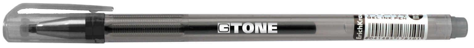 Ручка гелевая черная EK G-Tone 0.5мм