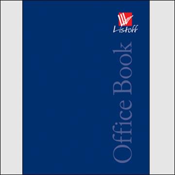 Тетрадь А4 160л кл тв Office book Синяя