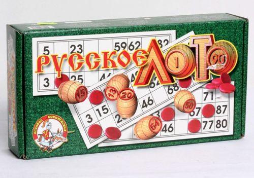 Игра Настольная Русское лото дерев.
