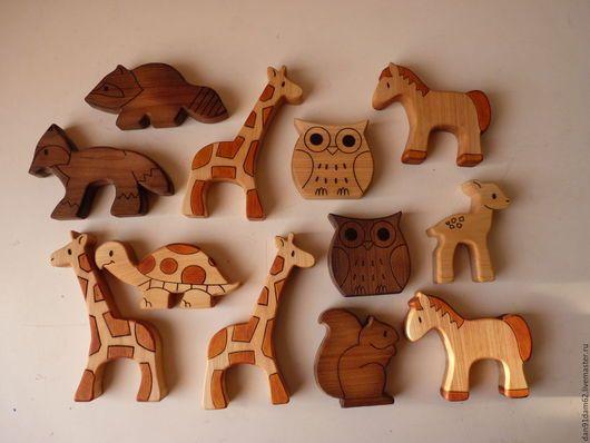 Игрушка деревянная Животные