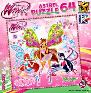 Пазл 64 Maxi Astrel 6464 Винкс. Флора