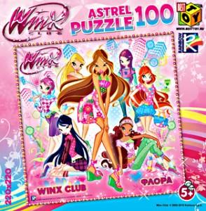 Пазл 100 Astrel 6472 Винкс. Флора