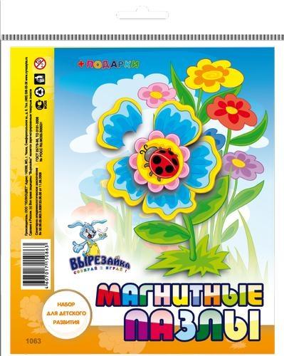 Магнитные пазлы Цветок