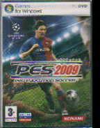 DVD Pro Evolution Soccer 2009