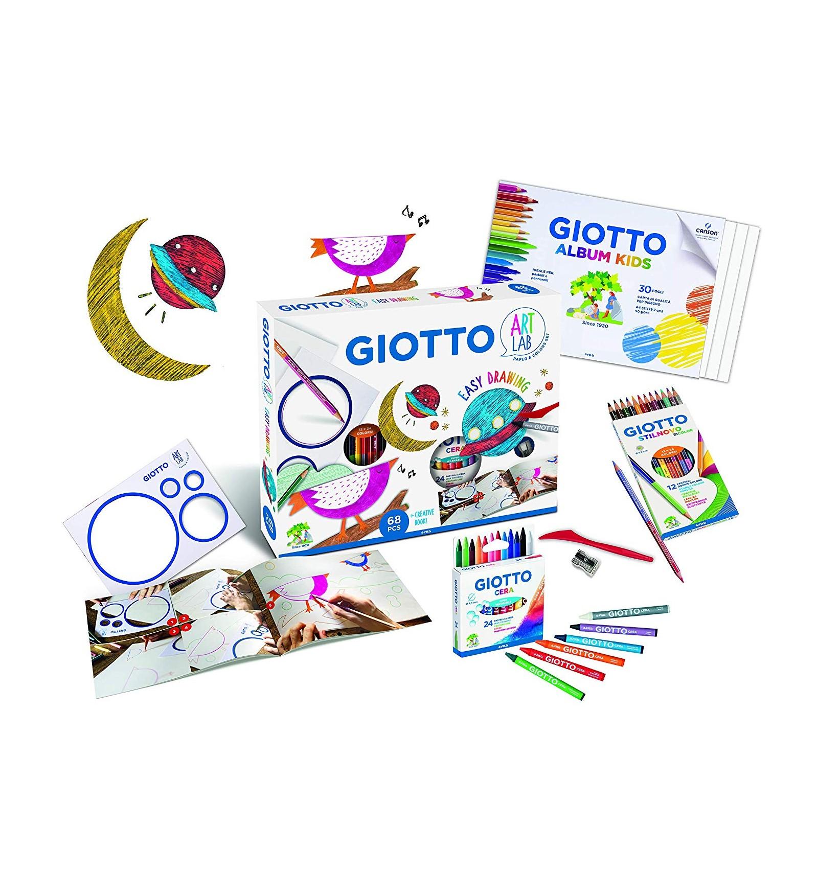 Творч Набор Giotto Art Lab Набор для рисования 68 предметов
