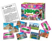 Игра Настольная Мемо фото Весь мир