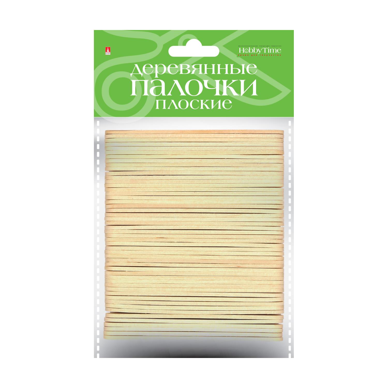 Заготовка дерево Палочки плоские 9,3см 50шт