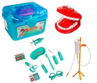 Набор Доктор - стоматолог в чемодане пласт