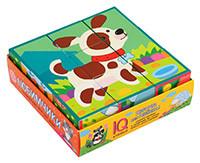 Игра Умные кубики в поддончике 9шт. Любимчики