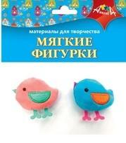 Декор Мягкие фигурки Птички 2шт