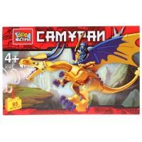 Конструктор Самурай на драконе 95 дет.